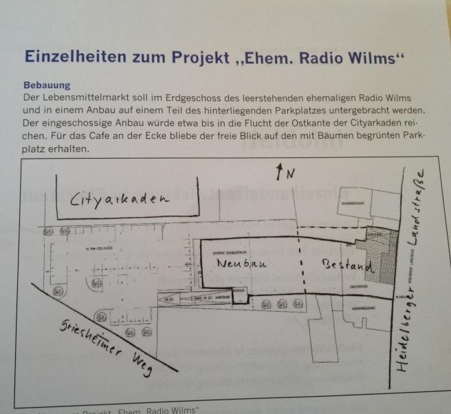 Aus dem Infoblatt der Stadt