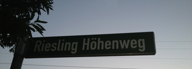 Riesling Höhenweg