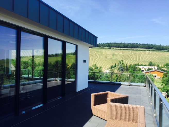 Mehr repräsentativ: Das Glas.Cabinet auf dem Weingut Robert Weil in Kiederich